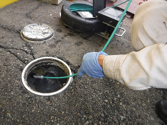 排水管 カメラ調査